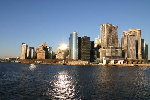 Blick auf Manhattan.