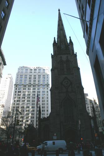 Trinity Chruch Outside.