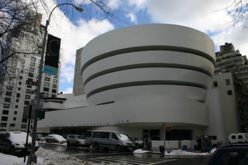 Das Guggenheim Museum NYC.