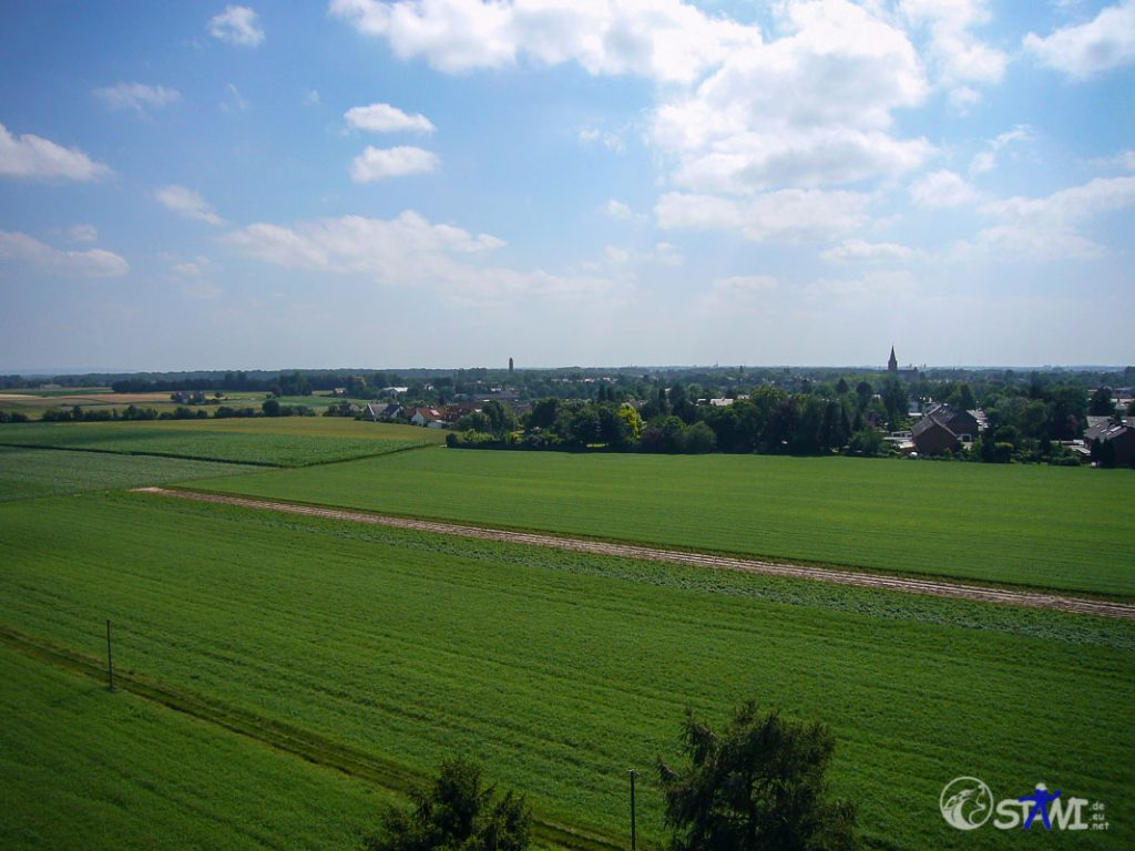 Blick nach Westen - Rheindahlen