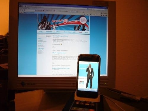 iPhone 2G im Jahre 2007.