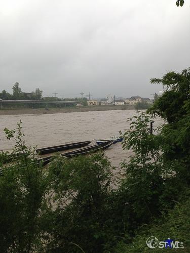 Der Rhein bei Rheinfelden.