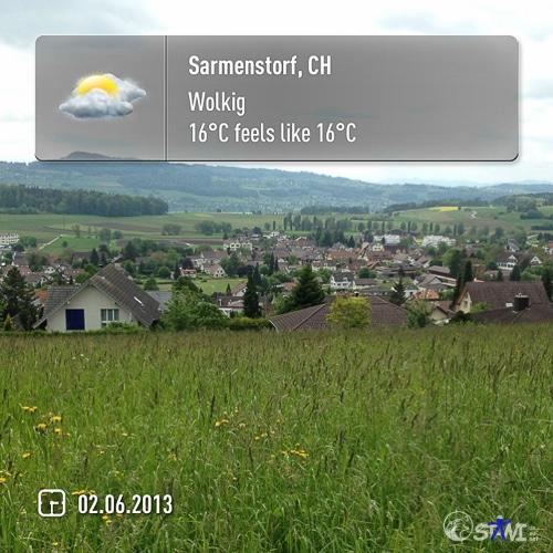 Ankunft in Samerstorf.