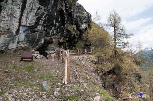 An der alten Kupfermine.