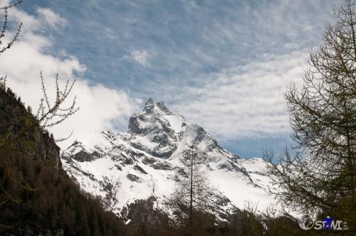 Ein letzter Blick zum Matterhorn.