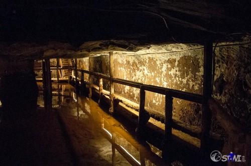 In der Mine.