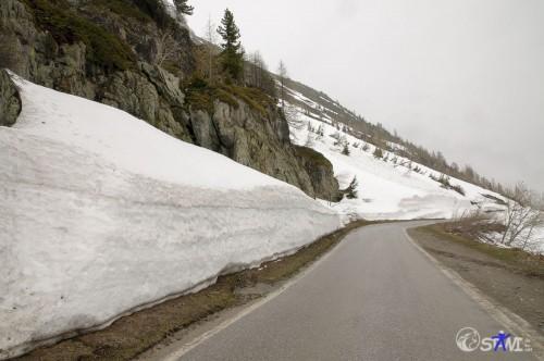 Hier war wohl bisschen mehr Schnee im Winter.