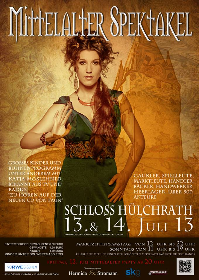 Mittelalter Spektakel Schloss Hülchrath 2013