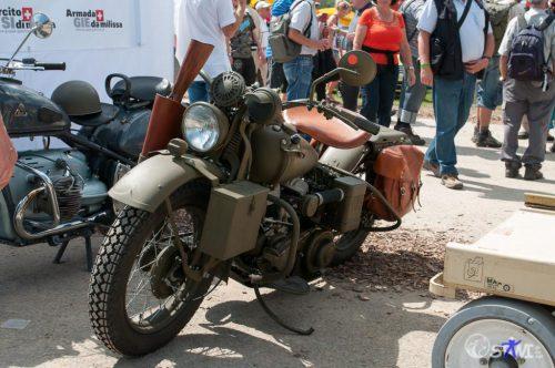 Ein von ganz vielen Motorrädern.