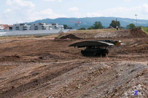 Brückenbaupanzer.