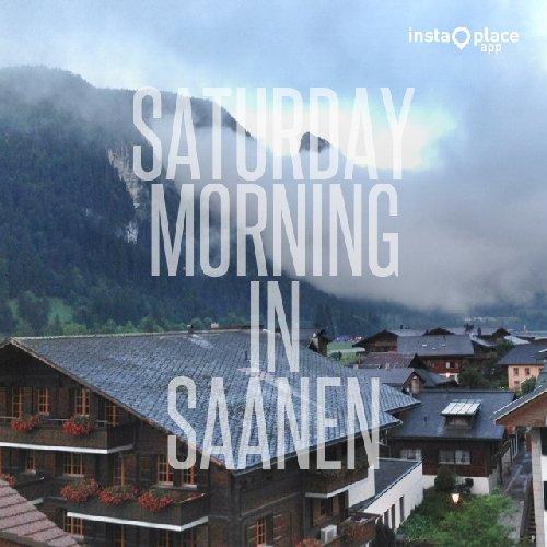 Samstag Morgen. Immerhin kein Regen.