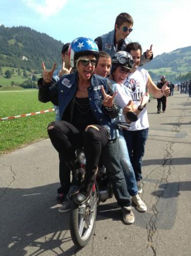 Unsere Mitstreiter von der Swatch Alpen Gang.