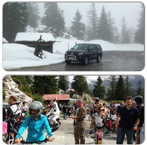 Den Col de la Croix erlebten wir Anfang Juni 2013 etwas anders.