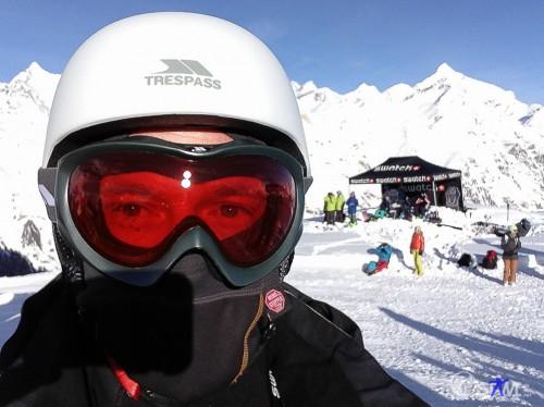 Selfie - Stawi im Schnee.
