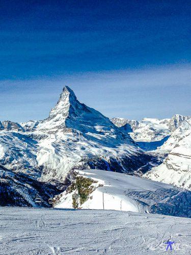 Mit dem iPhone - das Matterhorn.