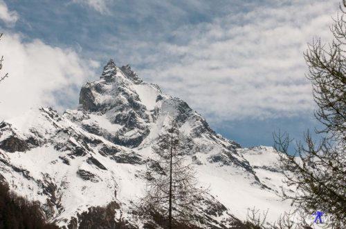 Zum zweite Mal das Matterhorn. Diesmal von der anderen Seite.