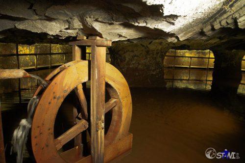 Bilder aus dem Untergrund. Salzmine Bex (Schweiz).