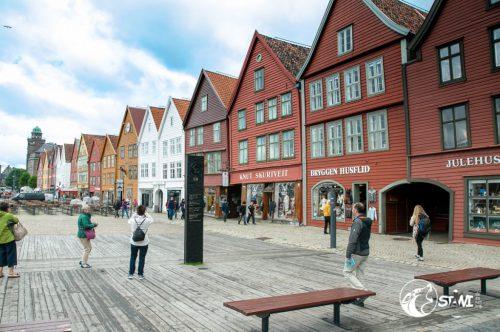 Bryggen in Bergen - Der Stolz von Bergen
