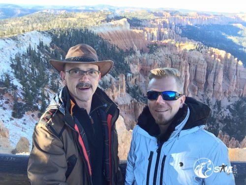 Hallo aus dem Bryce Canyon!