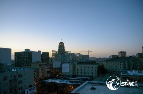 Guten Morgen aus San Francisco.