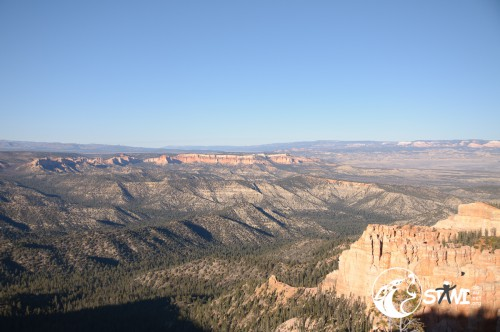 Reisewetter im Bryce Canyon.