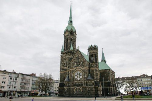 Evangelische Hauptkirche Rheydt.