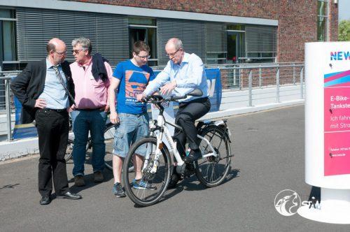 Die E-Bikes schafften wir nicht auszuprobieren