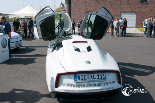 Schon futuristisch, der XL1
