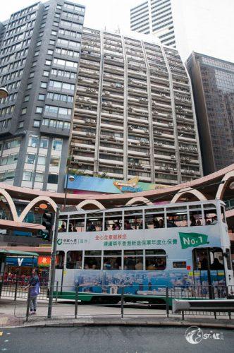 Sugar Street Kreuzung Jee Wo Street.