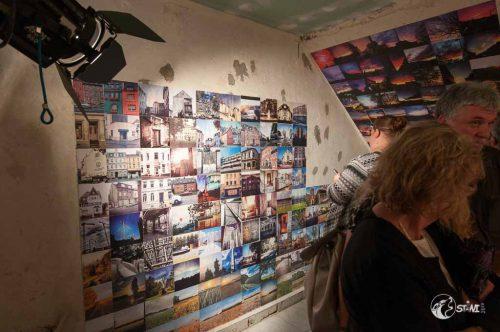 Ausstellung in der Vinylgarage