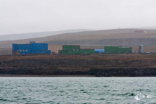 Barentsburg voraus