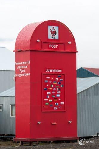 Briefkasten vom Weihnachtsmann.