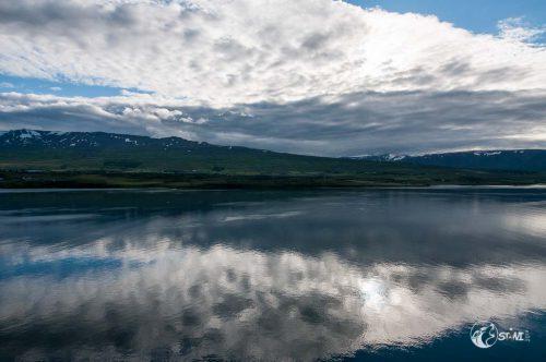 Abreise aus Akureyri.
