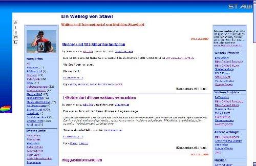 StawiLog von 2005-2007