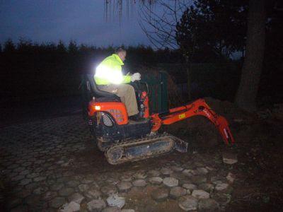 Baustelleneinfahrt