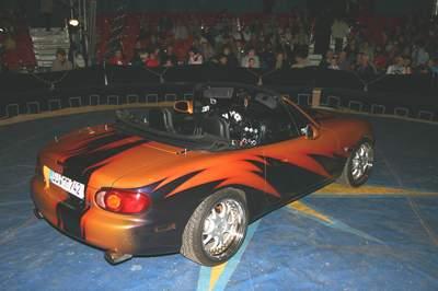 Mazda MX5 in der Manege