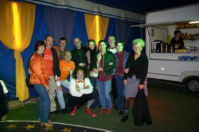 Scuderia-Miata im Circus