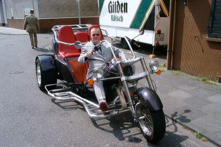 Klaus mit Trike 02.08.2004