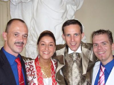 Matthias, Ratiba, Jan, Sascha