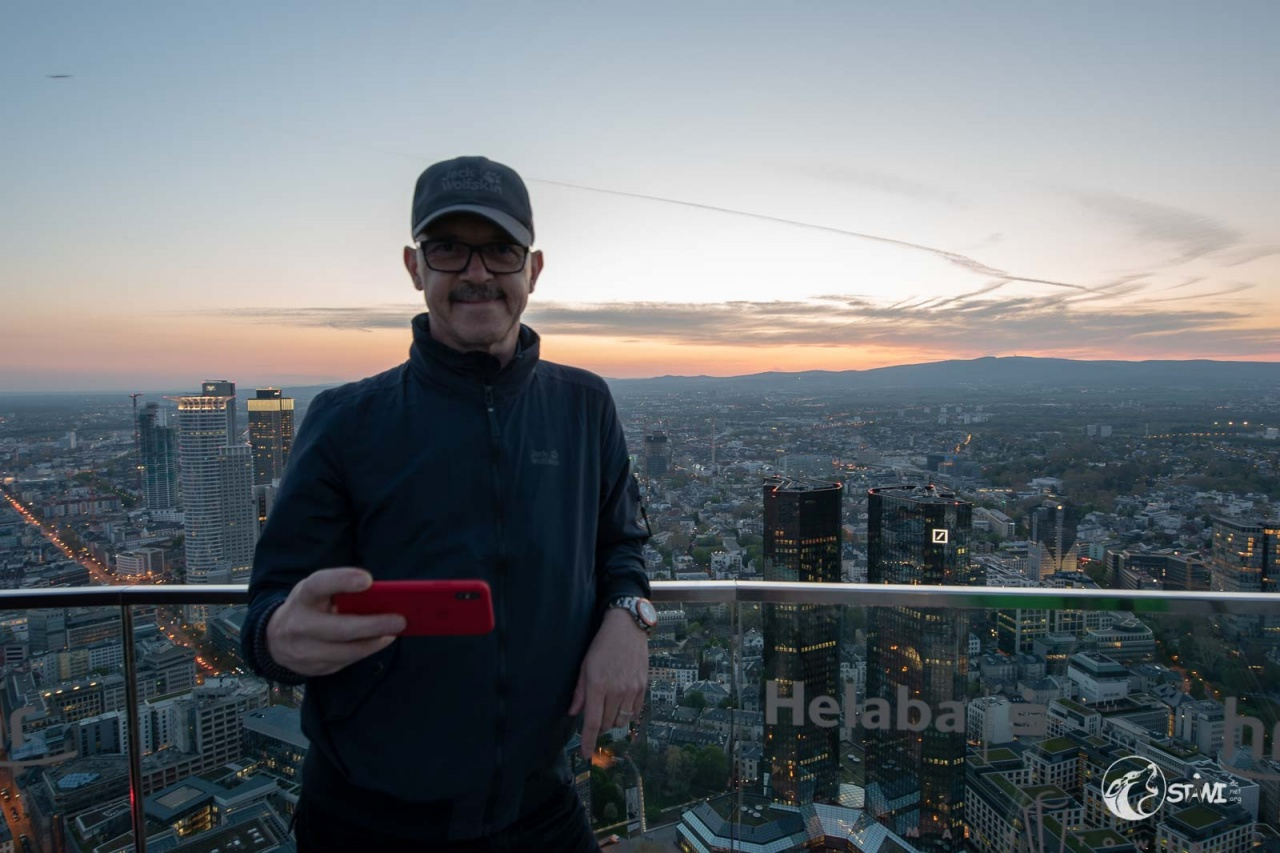 Selfi auf dem Maintower
