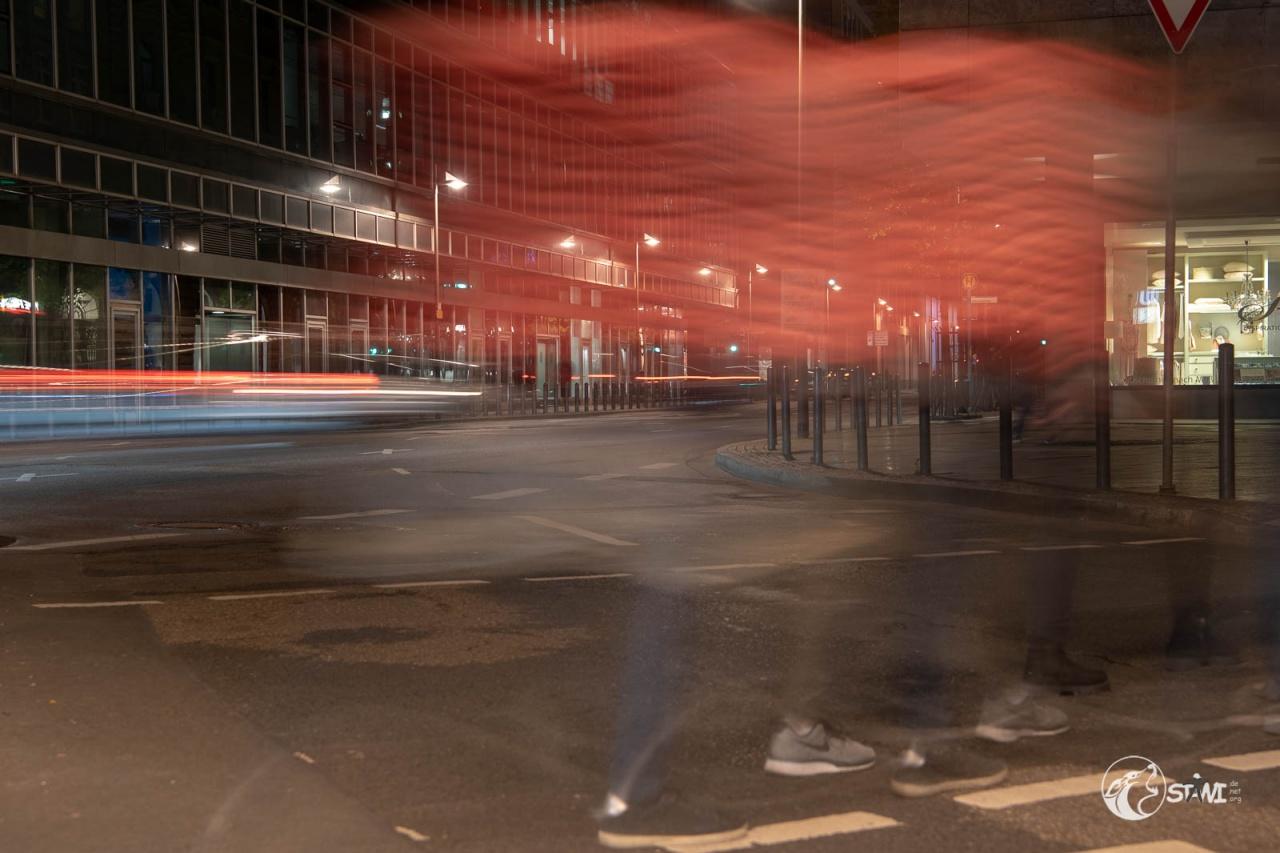 Geister bei rot