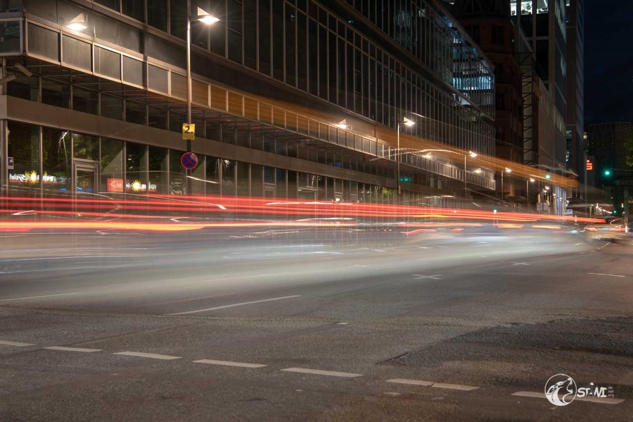 Lichter auf der Straße