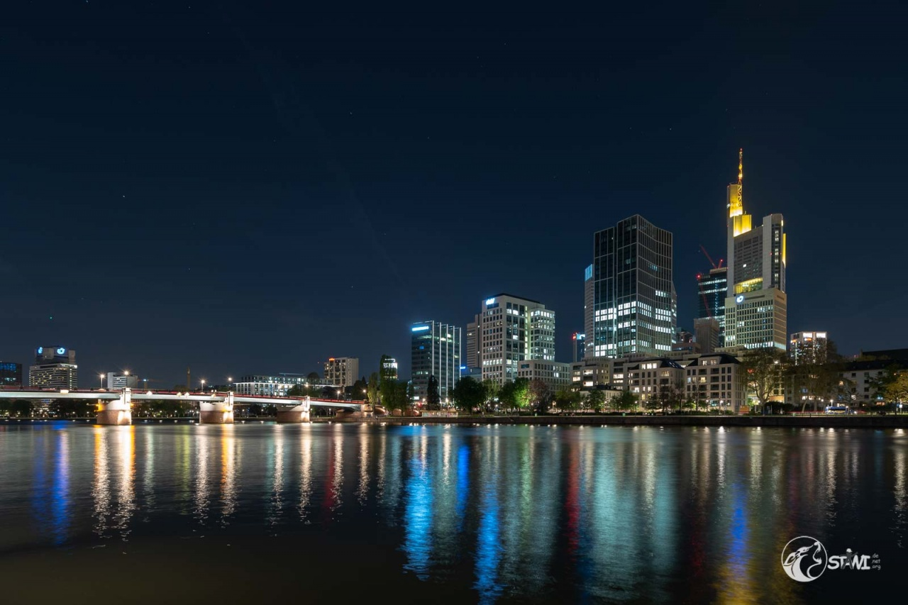 Skyline von Sachsenhaus aus