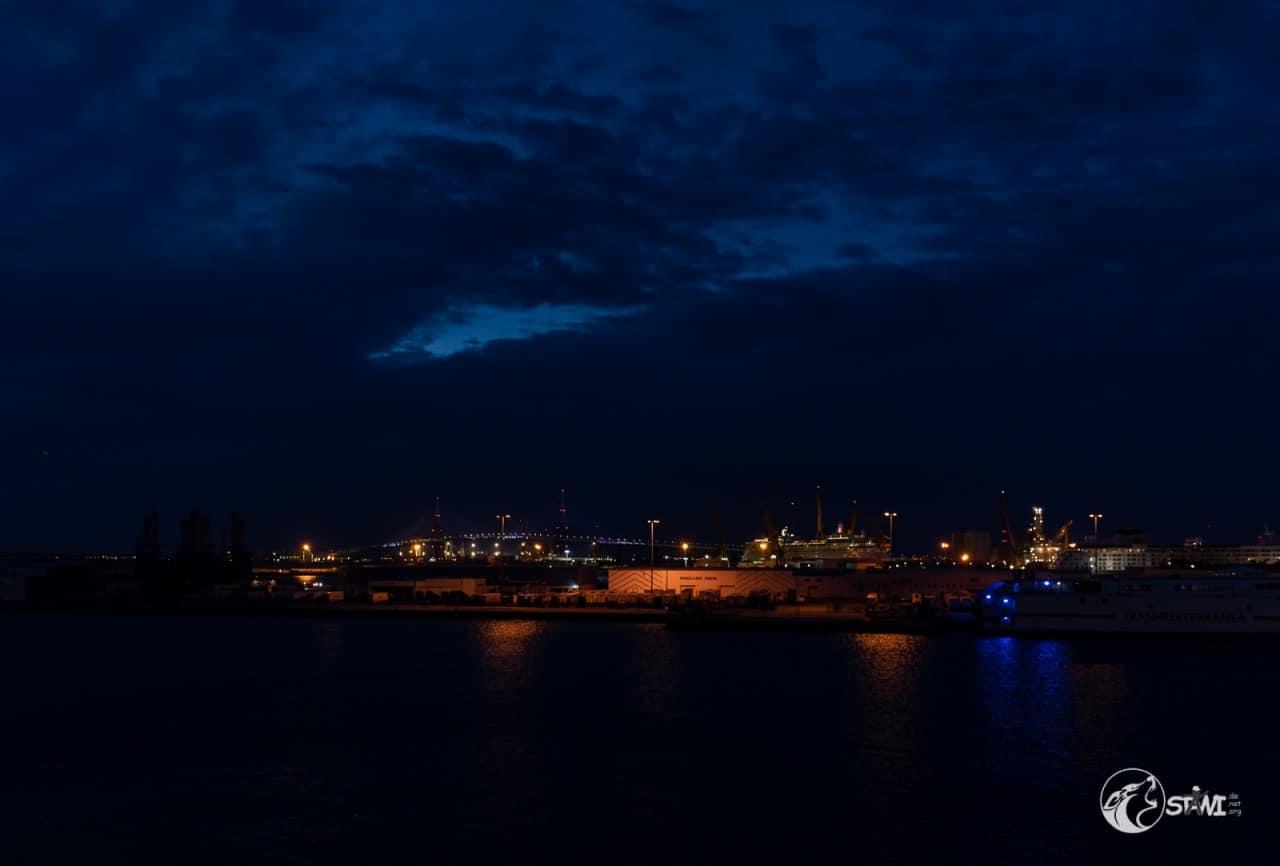 Im Hafen von Cadiz
