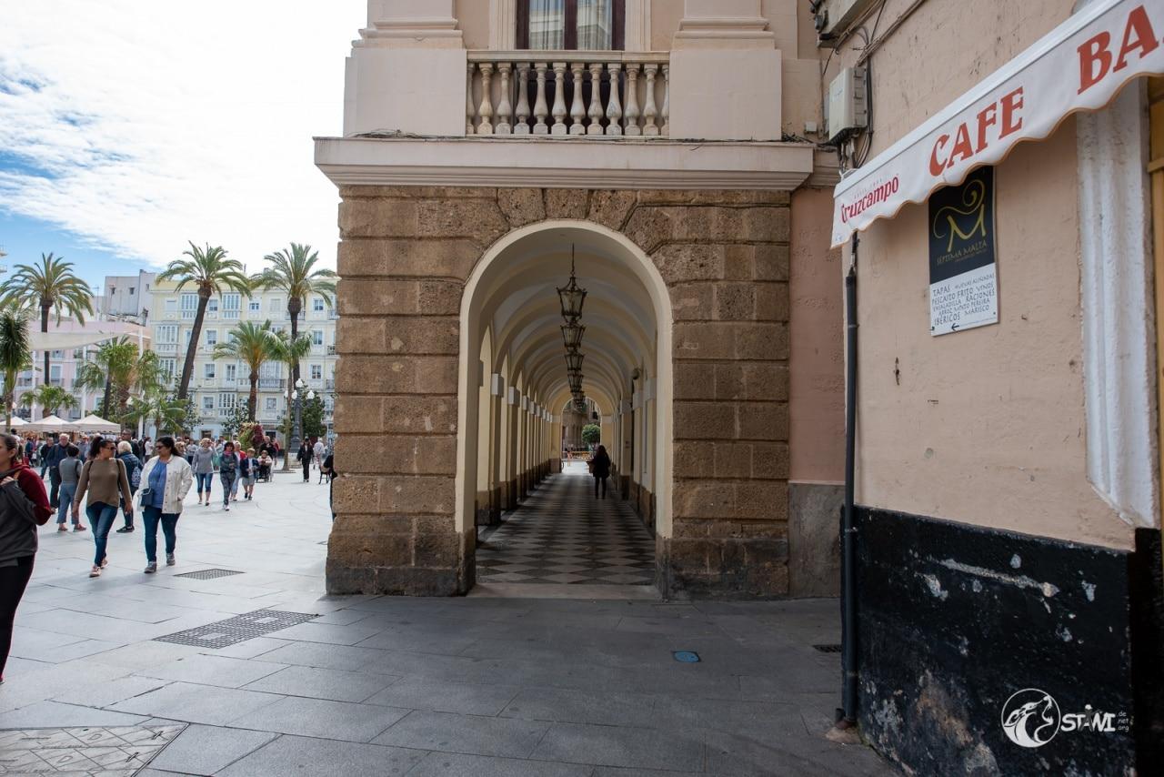 In den Straßen von Cadiz