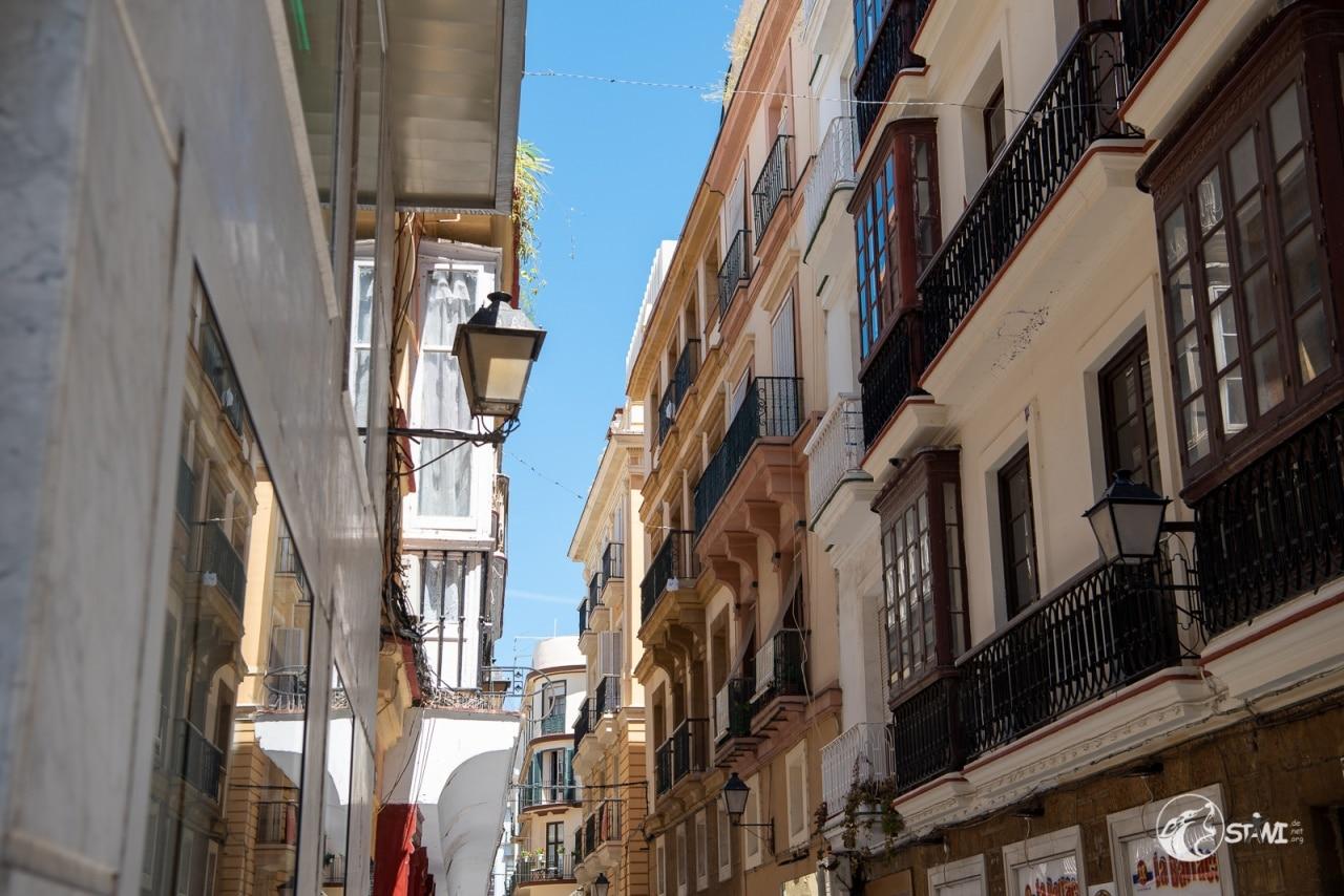 Fassaden in Cadiz