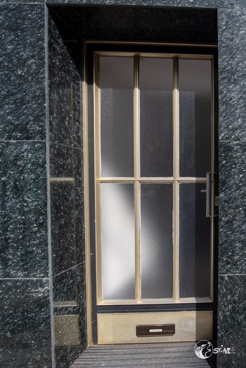 Klassischer Eingang