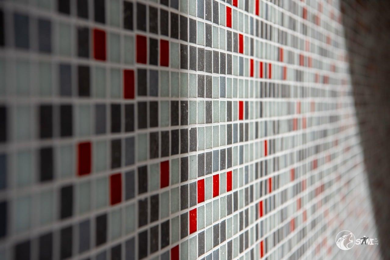 Mosaik ganz nah