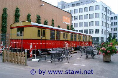 Berliner S-Bahn im TechnologiePark Köln